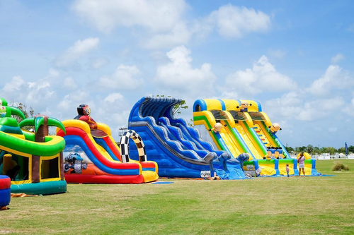 company cases about Inflatable Amusement Park Case in Thailand