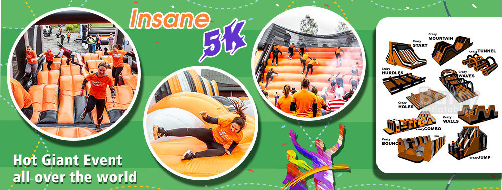 China best Inflatable Obstacle Course on sales