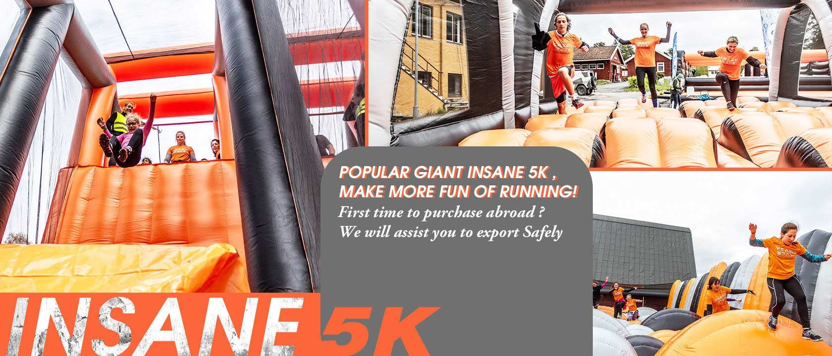 China best Inflatable 5k Run on sales