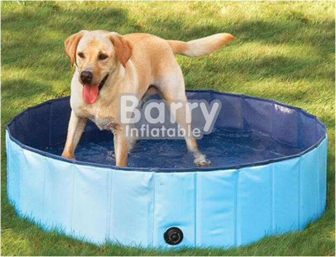 Red Foldable Dog Pet Swimming Pool Customized Size 3 Years Warranty