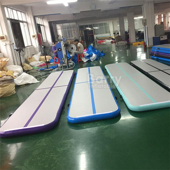 Bouncing Mattress Sport Outdoor Inflatable Mini Air Tumble Track DWF + 1.2mm Plato Material