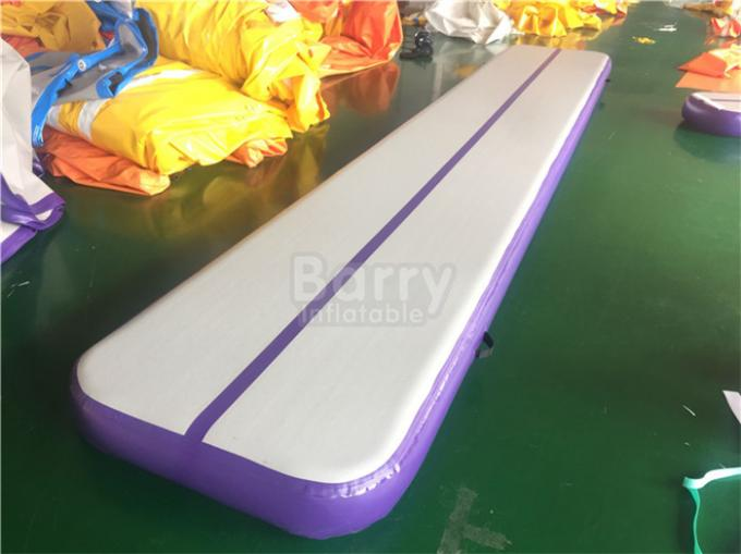 8m Gymnastic Pump Mat Gym Inflatable Air Track Mattress For Indoor Or Outdoor