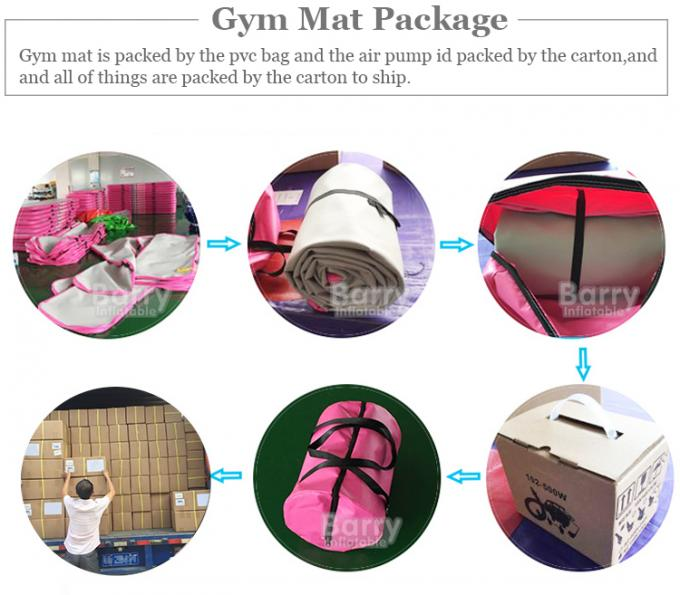 Custom Size Inflatable Air Track 3m 4m 5m 6m 8m 10m Gym