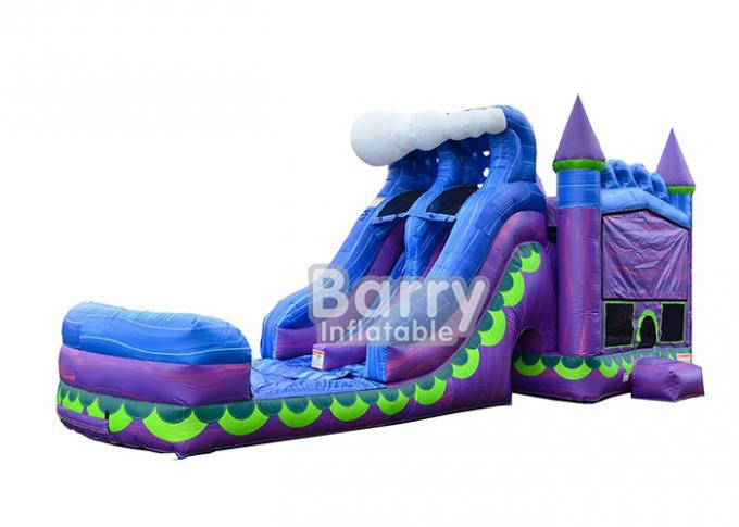 Mermaid Dual Lane Titan Plus ( 6 IN 1 ) Combo / Inflatable Bouncer Slide Combo