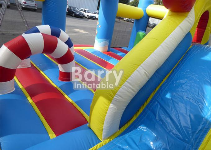 0.55m PVC Material Inflatable Park Equipment Playground / Outdoor Holiday Beach Inflatable Playland