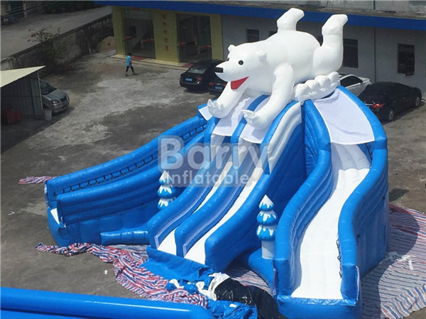 Adult Outdoor Inflatable Water Park , Children Water Park Playground Equipment