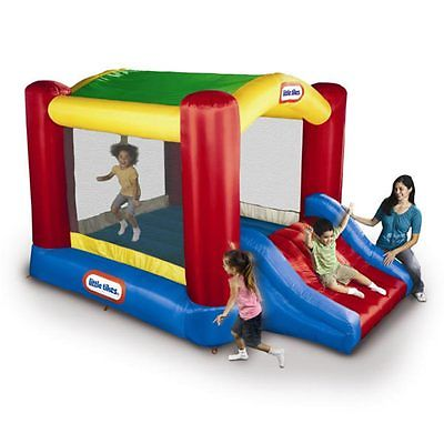 EN71 Inflatable Bounce For Backyard Kids Funny Time Jumping Castle With 0.55mm PVC