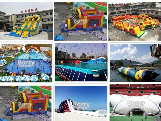 Outdoor Inflatable Dry Slide For Kids / Commerical Slide With Princess