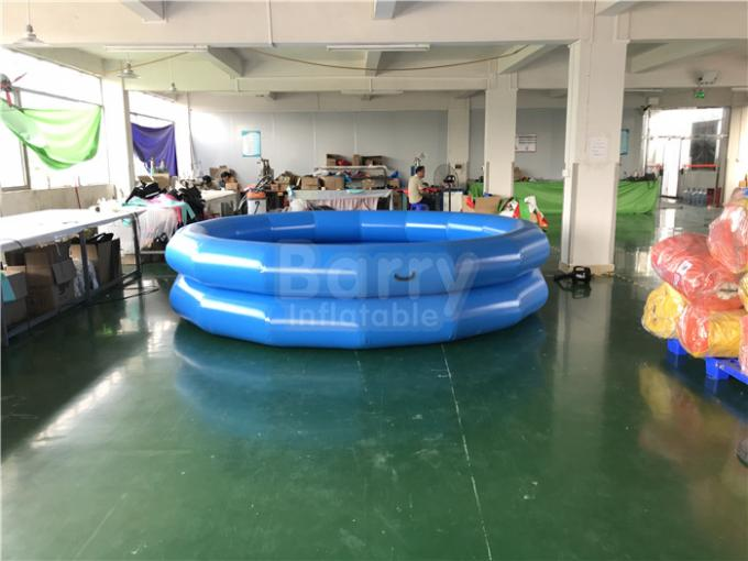 Children Indoor And Outdoor Water Playing Pool 2 Ring Round Inflatable Swim Pool
