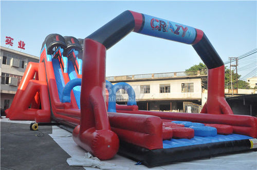 china latest news about Finish!!! Insane Inflatable 5K to Brazil
