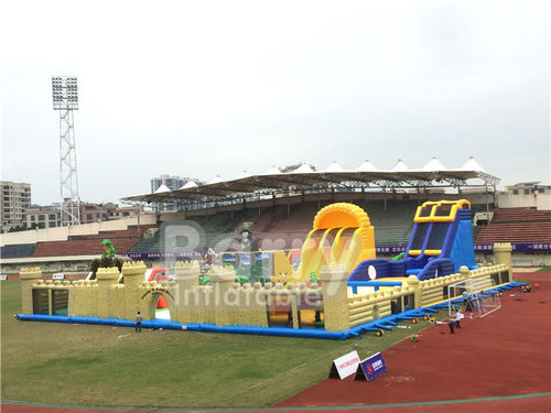 china latest news about Test big inflatable castle inflatable toddler playground