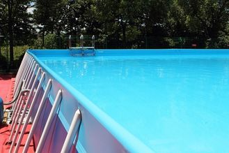 Square Metal Frame Pool supplier