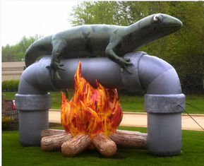 Amazing Design Inflatable Advertising Products Air Lizard Fire Resistant supplier