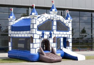 Amazing Castle Combo Bounce House Jumping House With Slide 5.6x5x3.5m supplier