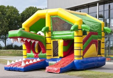 Fashional Inflatable Combo With Roof Party Bouncer House For Garden supplier