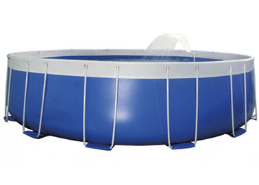 Personal Use Steel Frame Pool , Metal Frame Paddling Pool EN71 supplier