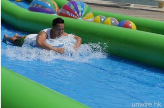 300 Meters Long Air Sealed Giant Inflatable Water Slide For A Family Fun Day supplier