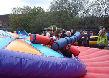 Ultimate Duel Inflatable Gladiator Arena Crazy 30FT Diameter supplier