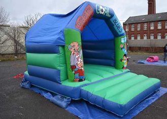 12x15 Football Kids Inflatable Bouncer Castle Used In Family Party supplier