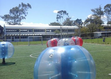 Tpu / Pvc 1.5m Outdoor Inflatable Toys Human Inflatable Bumper Bubble Ball For Adult supplier