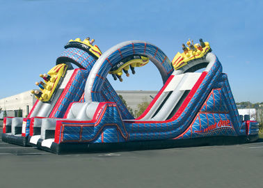China Wild One Obstacle Course / Bouncy Obstacle Course / Inflatable Obstacle Course For Kids supplier