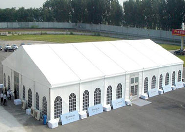 300~2000 People Big White Inflatable Tent For Party , Outdoor Luxury Wedding Tents