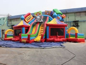 Outdoor Inflatables Bouncy Castle ,  Inflatable Party Game Toys Kids Mini Inflatable Jumper supplier