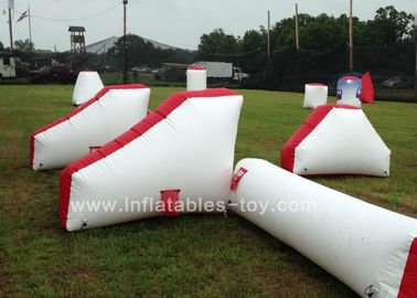 0.9mm PVC Inflatable Air Bunker Shooting Inflatable Sport Games For Playground supplier