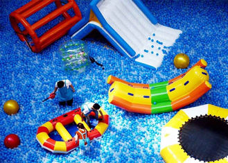 Latest Inflatable Amusement Park With Plastic Ball , Inflatable Toys Park For Kids supplier