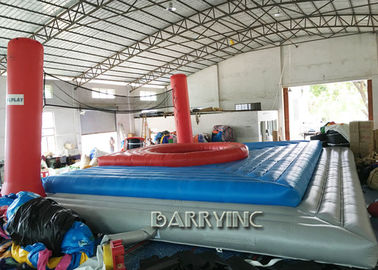 China Giant Commercial Inflatable Sports Games For Volleyball Inflatable Volleyball Court supplier