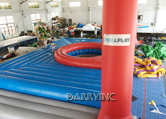Giant Commercial Inflatable Sports Games For Volleyball Inflatable Volleyball Court supplier