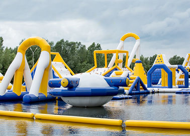 Liquid Leisure Giant Inflatable Obstacle Course Water Sport Game Waterproof supplier