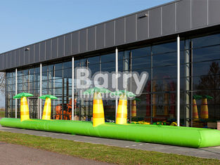 PVC Inflatable Belly Slide Jungle Inflatable Slip N Slide For Commercial Event supplier