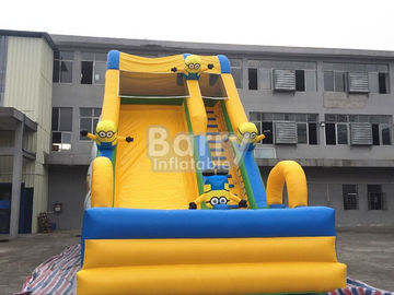 Commercial Inflatable Bounce Slide Outdoor Small Minions Inflatable Slide For Kids supplier