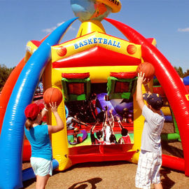 World Inflatable Sports Games Including Baseball , Basketball , Football For Event supplier