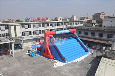 OEM Customized Lets Go Starting Line Insane Red Inflatable 5K Obstacle Course Games supplier