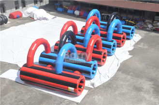 Customzied Insane 5k Inflatable Run Obstacles For Adults , Event Giant Crawling Tunnel supplier