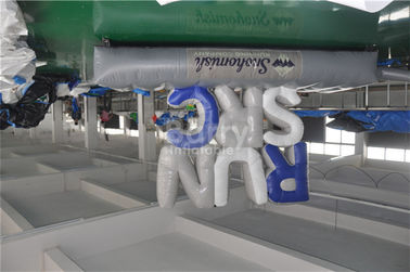 Customized Advertising Giant Inflatable Letters With Bottom Mat 5x1.5m supplier