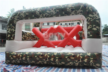 Giant Boot Camp Assault Challenging Inflatable Bounce House Obstacle Course supplier