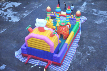 Giant Inflatable Toddler Playground Cheer Amusement Animal Theme CE-certificated supplier