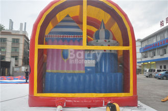 Indoor / Outdoor Kids Inflatable Playground Equipment With Cover supplier