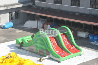 Promotion Children Toy Inflatable Snake Slide With Stair Behind supplier