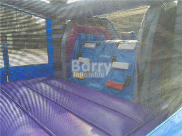 0.55mm PVC Tarpaulin Inflatable Bounce House Slide Combo For Kids supplier