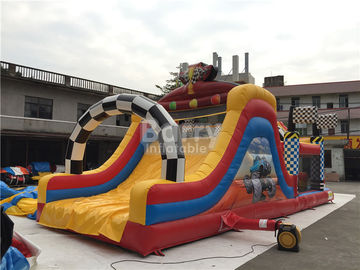 Water-Proof Inflatable Obstacle Course / Inflatable Outdoor Play Equipment supplier