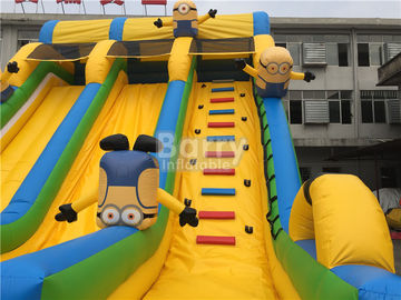 Commercial And Residential Small Kids Inflatable Slide With 0.5mm Pvc Tarpaulin supplier