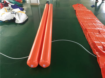 PVC Tarpaulin Inflatable Water Toys , Inflatable Pipe For Water Aqua Park supplier