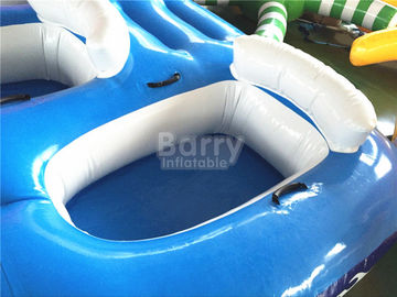 Blue And White Baby Inflatable Water Toys For Swimming Pools SCT EN71 supplier