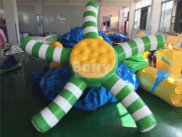 Custom 0.9mm PVC Airtight Inflatable Water Toys For Promotion supplier