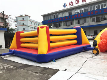 China Outdoor Interactive Kids Inflatable Sports Games / Inflatable Boxing Ring Games supplier