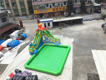 China Outdoor Inflatable Water Park For Kids / Extreme Fun Water Theme Park supplier
